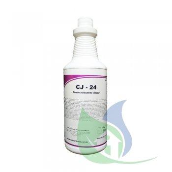 CJ-24 - DESINCRUSTANTE ÁCIDO - 1 LITRO - SPARTAN