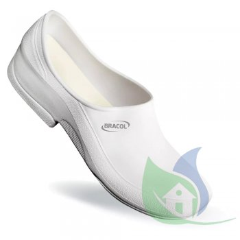 Sapato Antiderrapante Flip Branco N37 PVE