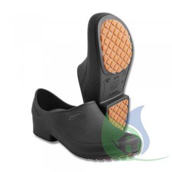 Sapato Antiderrapante Flip Preto N38 PVE