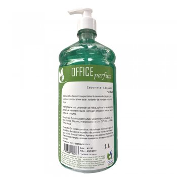 Sabonete Líquido Office Parfum 1L Herbal - Casa Jaguar