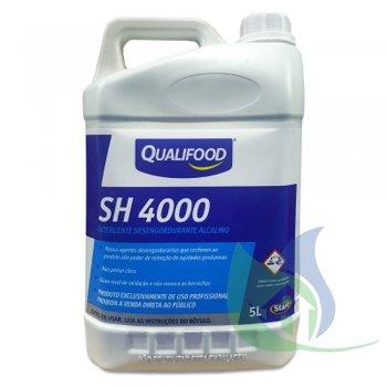 SH 4000 Detergente Desengordurante Alcalino - QualiFood Start