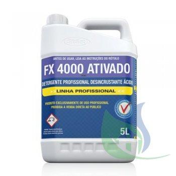 FX 4000 Ativado - Detergente Desincrustante Ácido 5L - Start