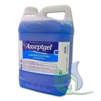 AsseptGel Sabonete Espuma Antisséptico 5L - Start
