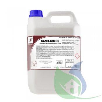 SANIT-CHLOR - Desinfetante - Galão 5L - SPARTAN