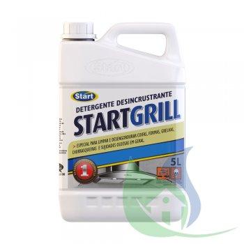 Detergente Desincrustante Alcalino START GRILL - Galão 5L - START