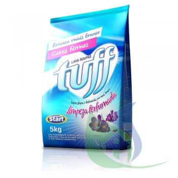 Sabão Em Pó TUFF Limpeza Perfumada 5Kg ( SACHET) - START