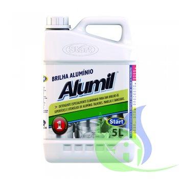 Limpa Alumínio ALUMIL Verde - Galão 5L - START