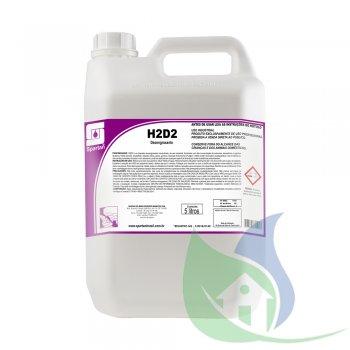 H2D2 Limpador Desengraxante Concentrado Spartan GL 5L