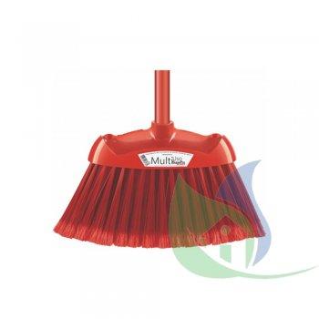 Vassoura Multiuso Pro Vermelha - SUPERPRO