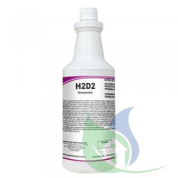 H2D2 Limpador Desengraxante Concentrado Spartan Fr 1L