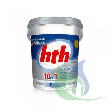 Cloro Aditivado Mineral BRILLIANCE 10 Em 1 - 2,5KG - HTH