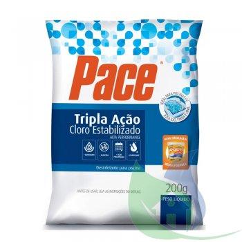 Pastilha PACE Tripla Ação 200g - HTH