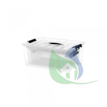 Conjunto Container C/ 3 - 7,3L/ 12,4L/ 20L - PLASNEW