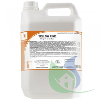 YELLOW PINE - DETERGENTE DE USO GERAL - GL 5L - SPARTAN