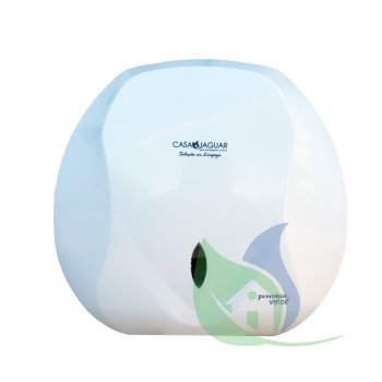 Dispenser CLEAN VELOX P/ Papel Higiênico Tipo Rolão (300/500M) Branco - PREMISSE