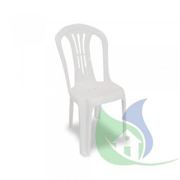 Cadeira Maxx Desenhada Branca - PLASNEW