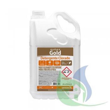 GOLD Detergente Clorado 5L - AUDAX CO.