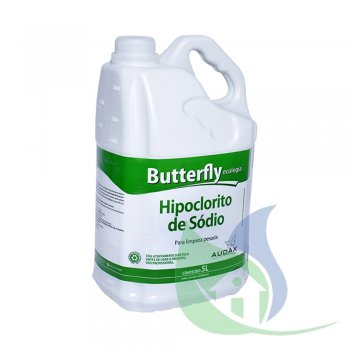 Hipoclorito De Sódio Butterfly 5% 5L - Audax CO