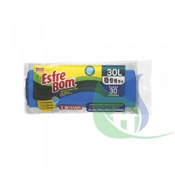 ESFREBOM Sacos Para Lixo Rolo 30L C/30 UN. - BETTANIN