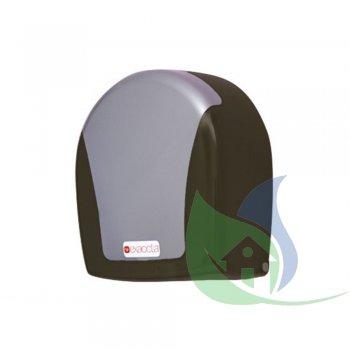 Dispenser Rolão Fume C/ Sobre Tampa Transparente - EXACCTA