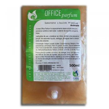 Refil Sabonete Líquido Office Parfum Animale Perolado PREMIUM 500Ml - Casa Jaguar