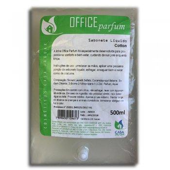 Refil Sabonete Líquido Office Parfum Cotton  500ML - Casa Jaguar