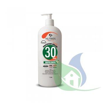 Protetor Solar 30 FPS Com repelente e 1/3 Uva 1L - NUTRIEX