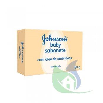 Sabonete Baby Óleo De Amêndoas 80g - JOHNSON & JOHNSON