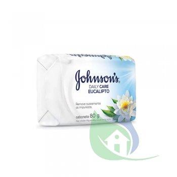 Sabonete Daily Care Eucalipto 80g - JOHNSON & JOHNSON