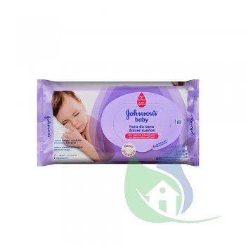 Lenços Umedecidos Baby Hora Do Sono Pacote Com 48 Un - JOHNSON & JOHNSON