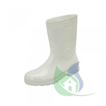 Bota PVC Branca Curta Com Forro N 37 - VULCABRAS