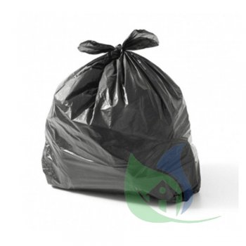 Sacos Para Lixo Preto 20L P27 Rolo Com 50 Un - ROGEVA
