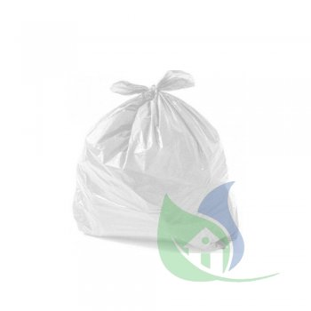 Sacos Para Lixo Branco 60L P40 Pacote Com 50 Un - ROGEVA