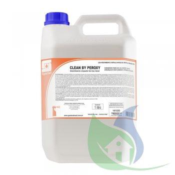 Clean By Peroxy Desinfetante e Limpador de Uso Geral - 5 Litros - Spartan